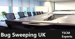 We Carry Out Sweeps of Boardrooms and Executive Suites - Call 07816477496